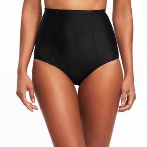 High waisted bathing suit bottom